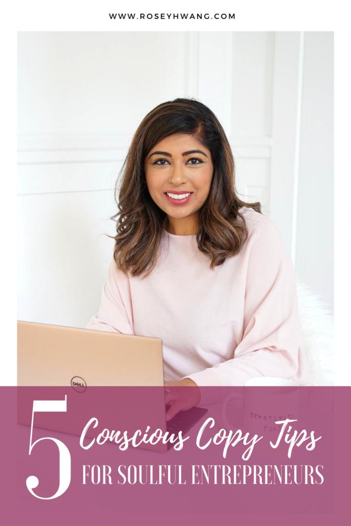 Conscious Copy Tips